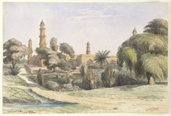 Tomb of the Emperor Jahangir, Shahdara (Punjab). January 1849